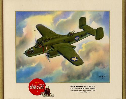 "North American B-25 ""Mitchell"" U.S. Army-Medium Range Bomber"