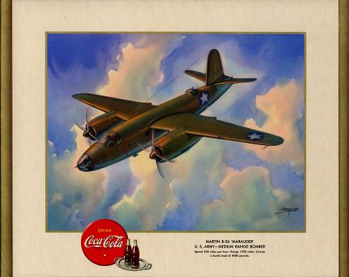 "Martin B-26 ""Marauder"" U.S. Army - Medium Range Bomber"