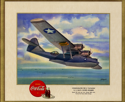 "Consolidated PBY-5 ""Catalina"" U.S. Navy - Patrol Bomber"