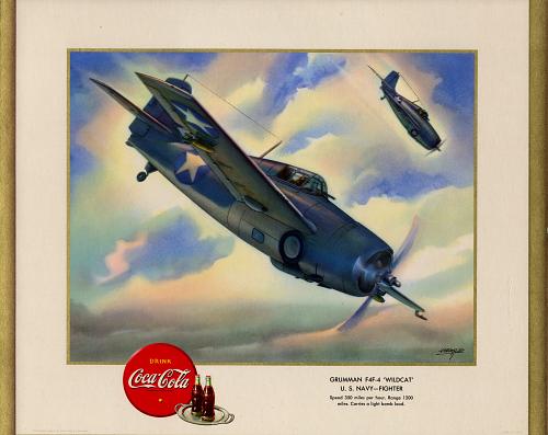 "Grumman F4F-4 ""Wildcat"" U.S. Navy- Fighter"