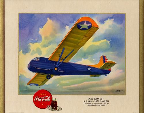 Waco Glider CG-4 U.S. Army- Troop Transport