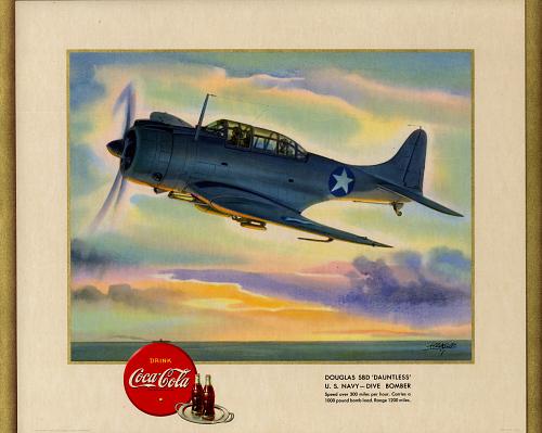 "Douglas SBD ""Dauntless"" U.S. Navy- Dive Bomber"