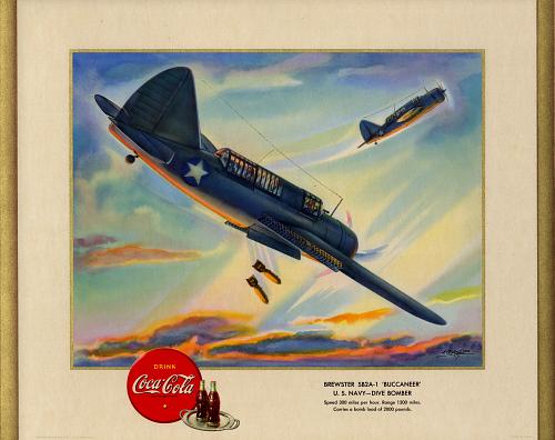 "Brewster SB2A-1 ""Buccaneer"" U.S. Navy - Dive Bomber"