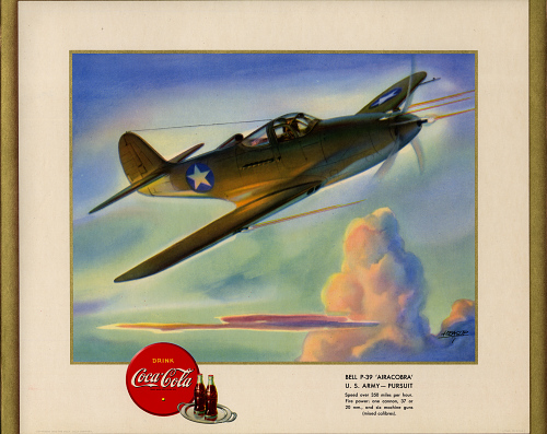 """Bell P-39 """"Airacobra"""" U.S. Army - Pursuit"""