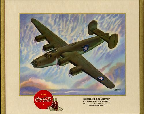"Consolidated B-24 ""Liberator"" U.S. Army- Long Range Bomber"