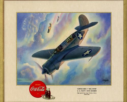 "Curtiss SB2C-1 ""Hell Diver"" U.S. Navy- Dive Bomber"