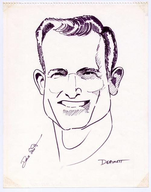 Drawing, Felt Tip Pen on Paper, Portrait