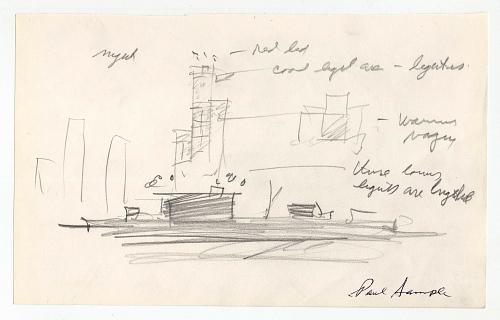 Night Sketch of Pad 37