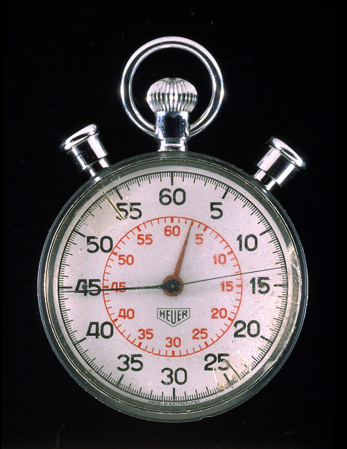Stopwatch, Mission Control, Apollo 11