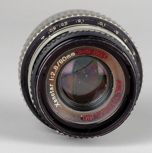 Lens, 80mm, Xenotar, Gemini