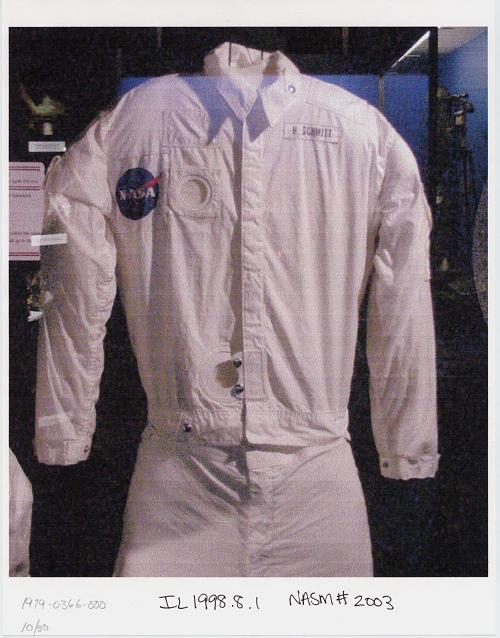 Inflight Coverall Garment, Jacket, Schmitt, Apollo 17