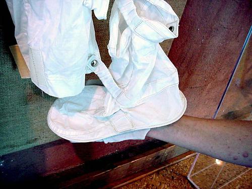 Inflight Coverall Garment, Boot, Left, Schmitt, Training/Back-up