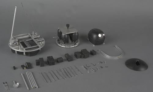 Model, Lunar Probe, Lunar Orbiter