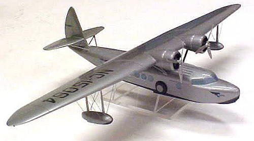 Model, Static, Sikorsky S-43, Pan American World Airways