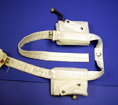Life Vest, Dual, Collins, Apollo 11