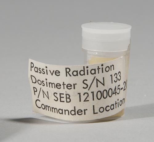 Dosimeter, Passive Radiation, Personal, Apollo 11