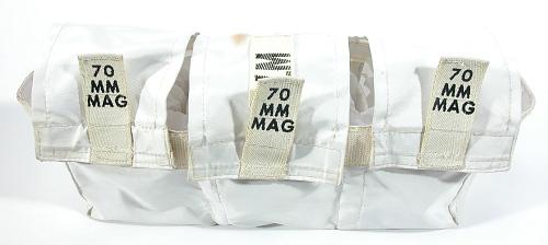 Bag, 70mm Film Magazine Transfer, Apollo 11