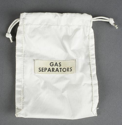 Bag, Hydrogen Gas Separators, Apollo 11