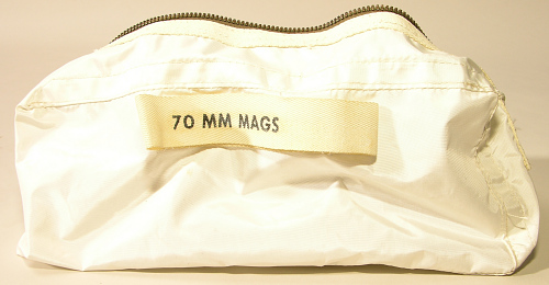 Bag, Decontamination, Film Magazine, 70 mm, Lunar Surface, Apollo 11