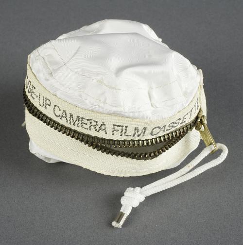 Bag, Decontamination, Cassette, Close-up Camera, Lunar Surface, Apollo 11