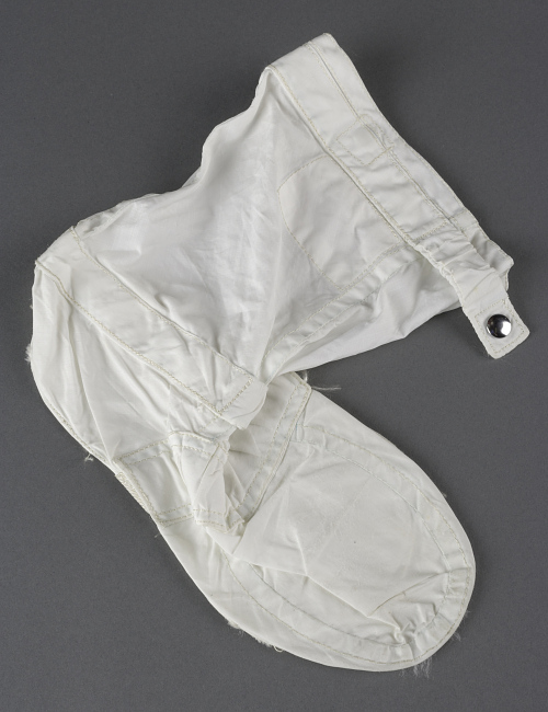Inflight Coverall Garment, Boot, Right, Armstrong, Apollo 11