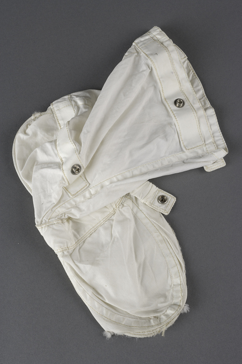 Inflight Coverall Garment, Boot, Left, Collins, Apollo 11