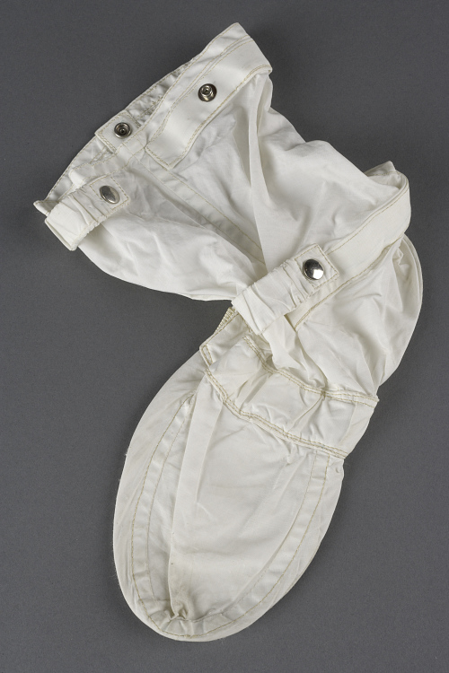 Inflight Coverall Garment, Boot, Right, Collins, Apollo 11