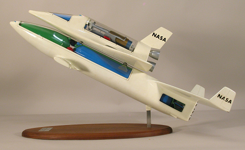 Model, Space Shuttle, McDonnell Douglas / Martin Marietta Reusable Concept, 1:96