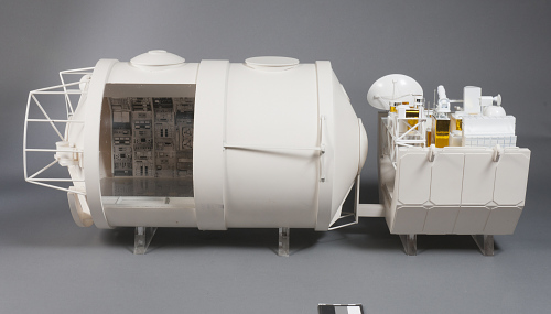 Parts, Model, Spacelab, 1:15