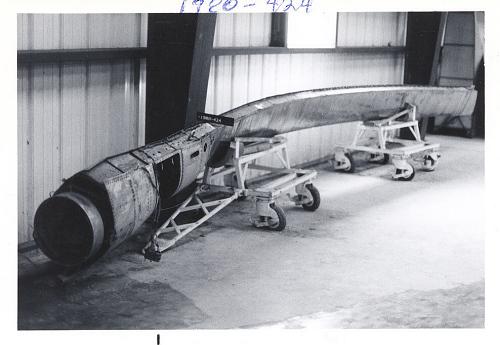 Rotor Blade, Hot Cycle, XV-9