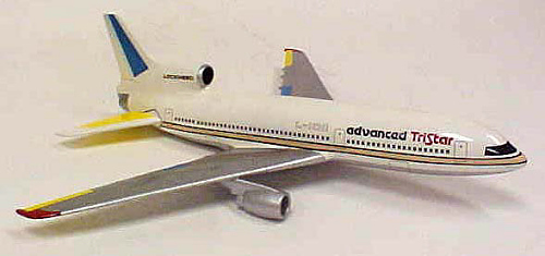 Model, Static, Lockheed L-1011-500, Lockheed Livery