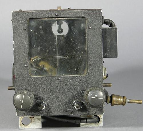 "Gun Sight, ""Shoebox"" Prototype, Charles Draper"