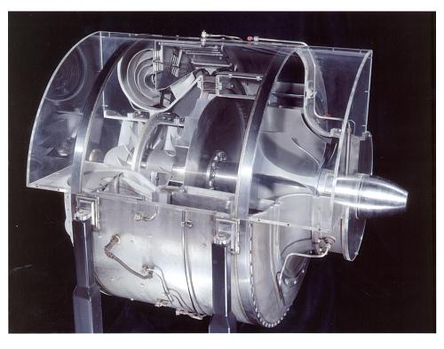 Heinkel (von Ohain) HeS 3B Turbojet Engine, Reproduction