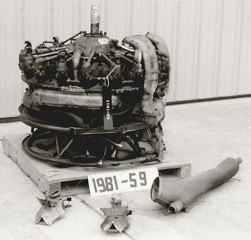 Jacobs (Pratt & Whitney Wasp Jr.) R-985-AN-14B, Radial 9 Engine