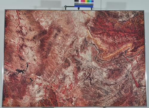 Satellite Photograph on Paper