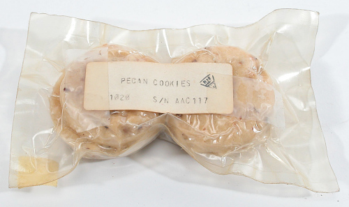 Space Food, Pecan Cookies, Shuttle, STS-1