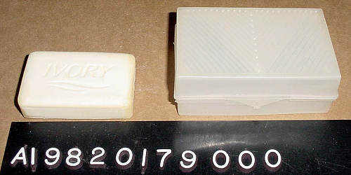Shuttle Personal Hygiene Kit, Soap and Soap Case, STS-1, Young