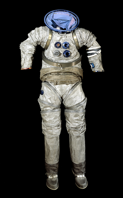 Pressure Suit, Advanced Extra-Vehicular Suit, Modified B1-A, Experimental