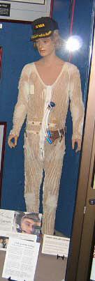 Liquid Cooling Garment, S# 074, Cernan, Apollo 17