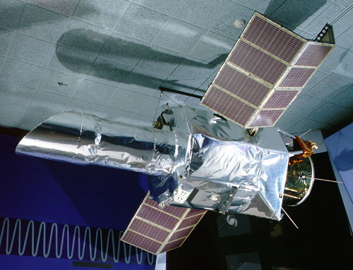 Satellite, International Ultraviolet Explorer (IUE), Engineering mock up