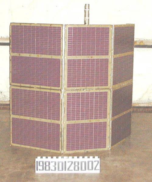 Solar Panel, Satellite, IUE, Test Unit