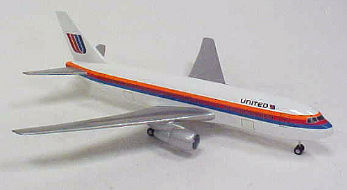 Model, Static, Boeing 767-200, United Airlines
