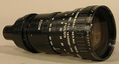 Lens, Zoom, Television Camera, Apollo 17