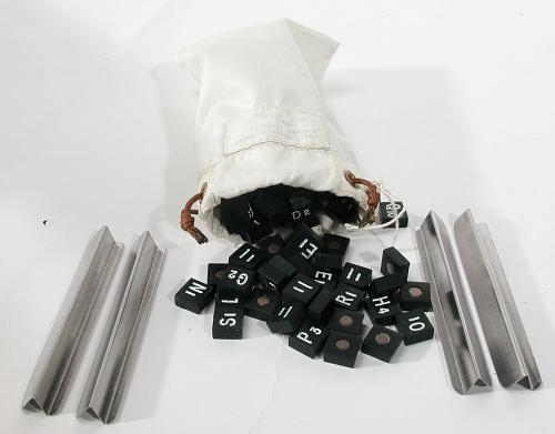 Letter Assembly, Scrabble, Skylab