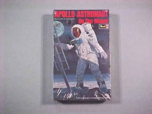 Model, Apollo Astronaut on Moon