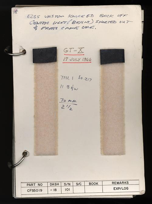 Checklist, Gemini 10