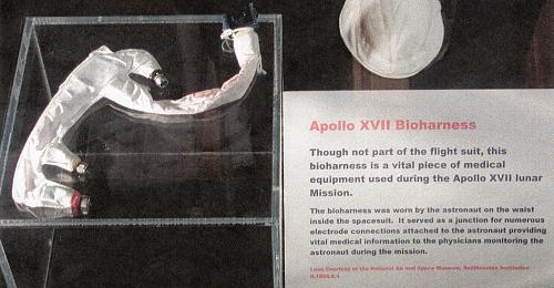 Assembly, Bio-Harness, Schmitt, Apollo 17
