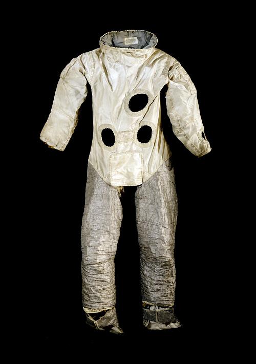 Pressure Suit Coverlayer, Gemini EVA, Cernan Developmental, Gemini 9