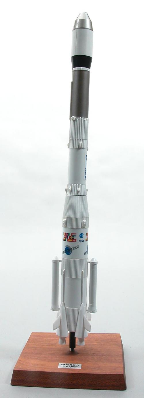 Model, Rocket, Ariane 3, 1:100