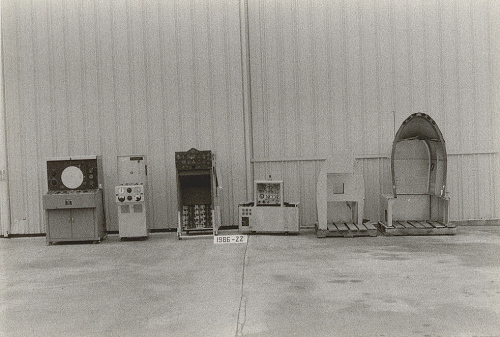 "B-25 Instrument Trainer, ""Flight Duplicator"", Curtiss-Wright, Dehmel, P-3A"